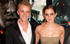 Tom Felton and Emma Watson and are on holiday together and the nostalgia, it's real
