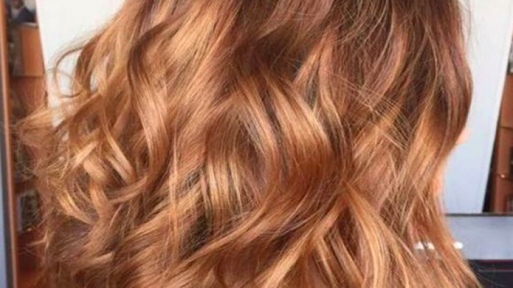 Gingerbread caramel hair is set to be the hottest colour trend this Autumn