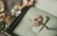 The fab engagement ring style that's becoming very popular with Irish couples