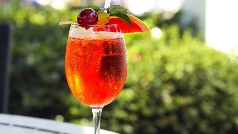 Rosé Aperol spritz: the summer drink you need to curb these bleary autumn days