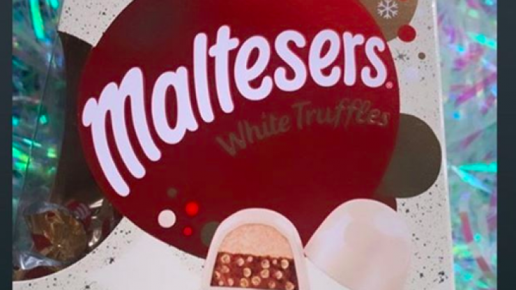 Nobody panic BUT Malteasers are releasing white chocolate truffles this year
