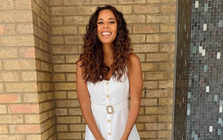 Rochelle Humes Nasty Gal skirt has been reduced to €32