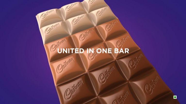 Cadbury has created a new chocolate bar with four types of chocolate