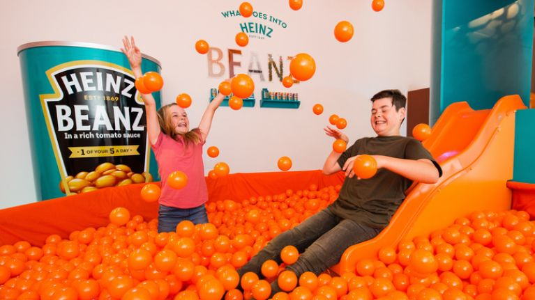 A Heinz Beans museum just opened in London, and we actually need to go