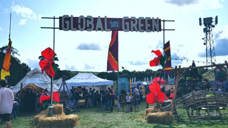 Eco-warrior or not, take a break from it all at Electric Picnic and head for Global Green