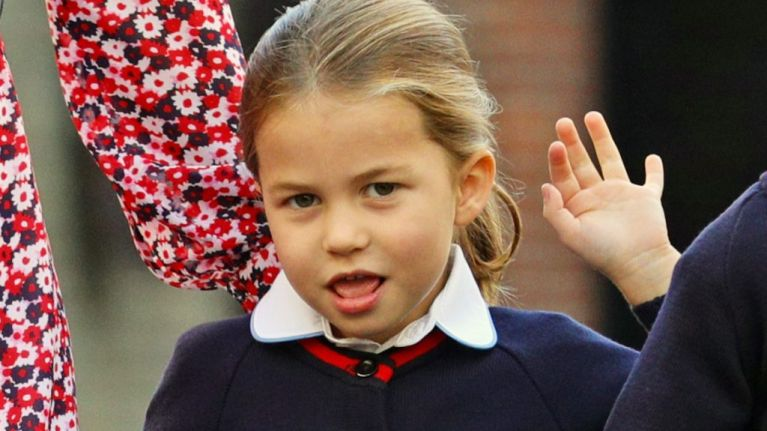 These photos from Princess Charlotte's first day at school are TOO adorable