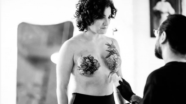 Meet David Allen, the man changing the lives of breast cancer survivors through tattoos