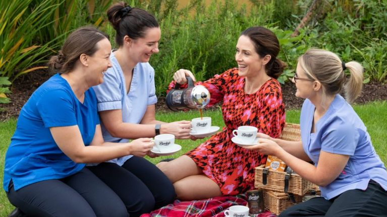 Ireland's Biggest Coffee Morning for hospice returns and yes, we're ALL signing up!