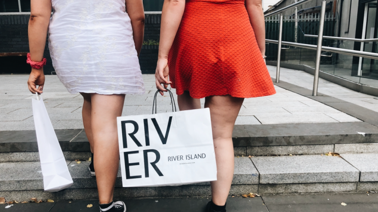 The River Island dress that would be just gorgeous for a winter hen party