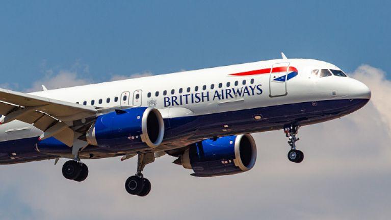 Irish flights affected by British Airways strike