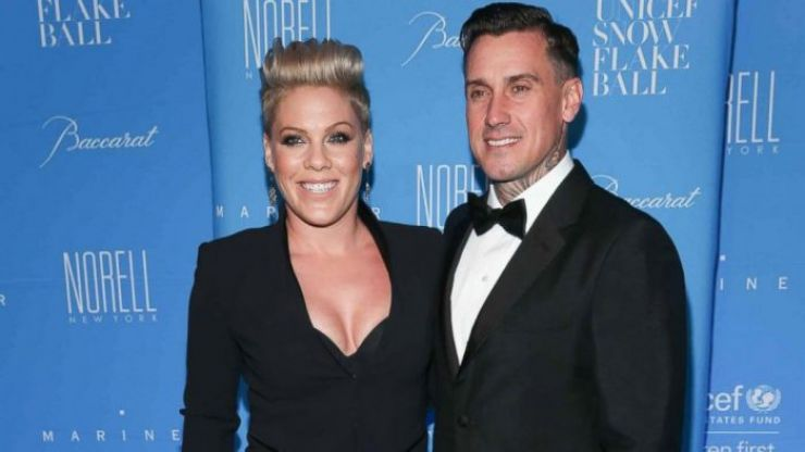 Pink's husband gushes about the singer on her 40th birthday