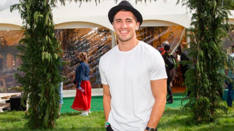 Love Island fans were pleased to spot Greg O'Shea at Electric Picnic yesterday