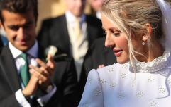 Ellie Goulding's wedding dress took 640 hours to make and honestly, WOW