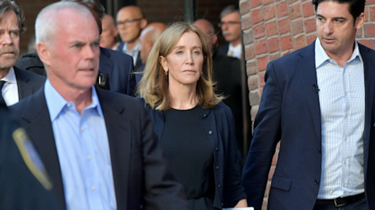 Felicity Huffman gets 14 days in prison for paying to have daughter's exam answers fixed