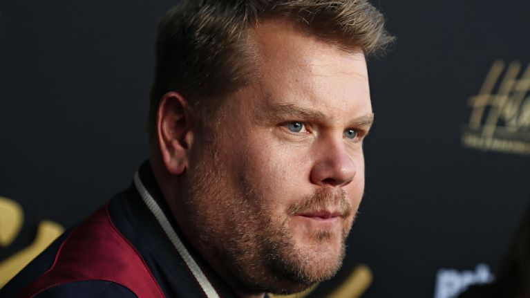 'It's just bullying': James Corden responds to TV host's fast-shaming comments