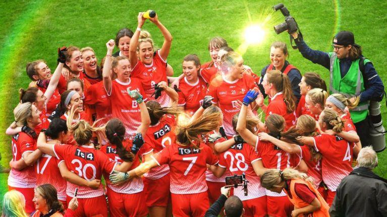 Katie Flood wreaks havoc as Louth seal third All-Ireland Ladies' Football Junior title