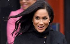 Meghan Markle just stepped out wearing the most divine purple dress we've ever seen