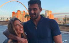 Love Island's Adam Collard looked smitten with Irish influencer Sarah Godfrey during date night