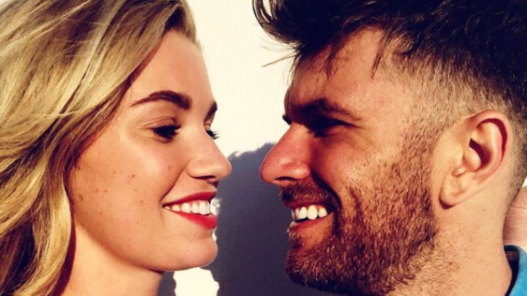 Joel Dommett and Hannah Cooper have tied the knot in Mykonos