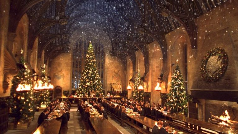 Harry Potter fans can have Christmas dinner at Hogwarts this year and it sounds magical