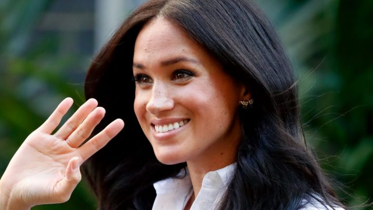 Meghan Markle paid tribute to Princess Diana at the Smart Works Collection launch