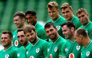 The official starting Irish team for the Rugby World Cup has been announced