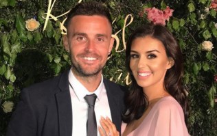 Terrie McEvoy has shared the first photo of her wedding dress and oh WOW
