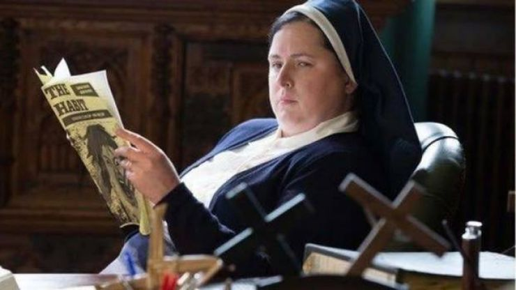 Clear your schedule –Sister Michael from Derry Girls is on The Ray Darcy Show tonight