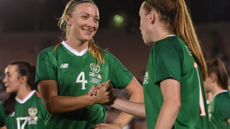 Ireland's new women's soccer coach names her first squad (and we want you to support them!)