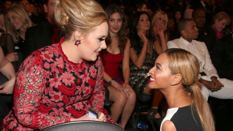 Don't freak out but Beyoncé and Adele have recorded a song together