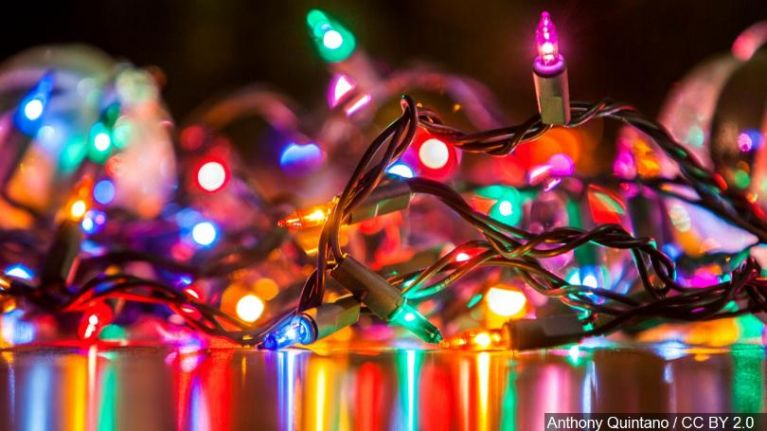 Christmas Lights.Leaving Your Christmas Lights Up Is Actually Good For Your