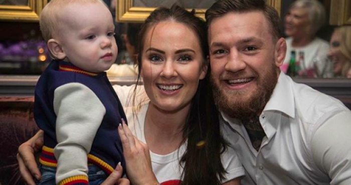 Apparently, this is the unique name Conor McGregor and Dee Devlin gave  their second child | Her.ie