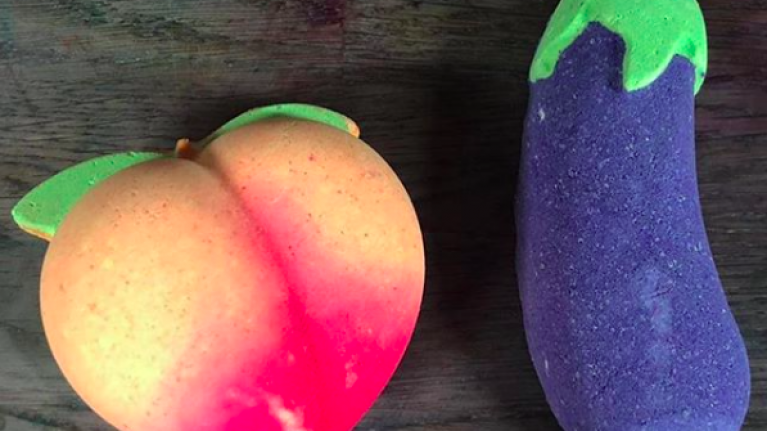 Lush has created some risqué bath bombs to gift bae on Valentine's Day