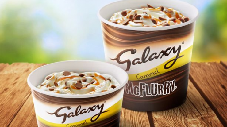 McDonald's is bringing back the Galaxy McFlurry, so 2019 is officially unreal