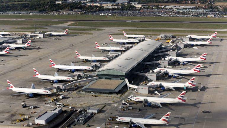 Heathrow suspends flight departures after reported drone sighting