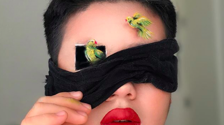 Bird Box inspired makeup looks are here to confuse us just like the movie