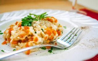 Butternut squash risotto is perfect for dinner AND to box up for lunch too
