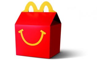 Glorious news! McDonald's launches its first ever vegetarian Happy Meal
