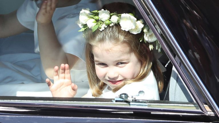 This side by side photo shows how Princess Charlotte takes after Princess Diana