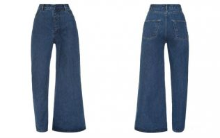 These half-skinny-half-flared jeans are 'in fashion'... and cost more than €300