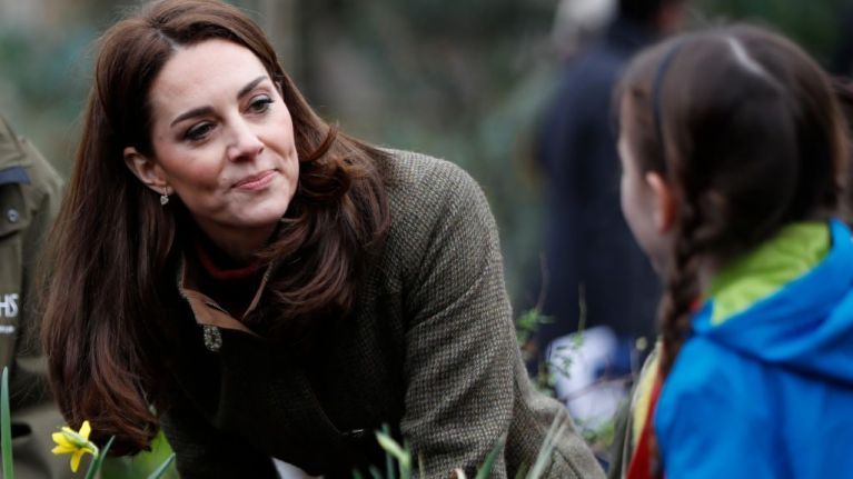 Kate Middleton wore an iconic IRISH brand today, and we're expecting a total sell out