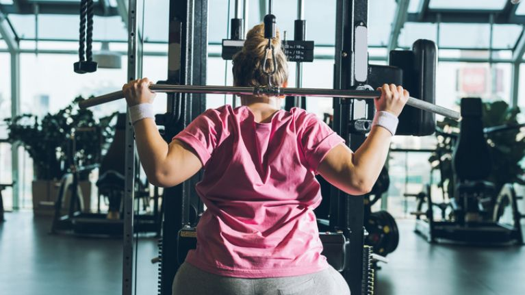 A plus size woman has written a letter to the people that laugh at her in the gym