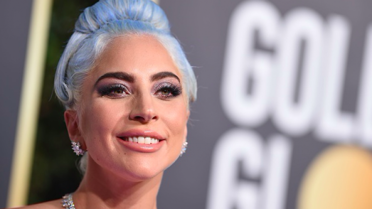 Lady Gaga looks the spitting image of her mom as they attend an event together
