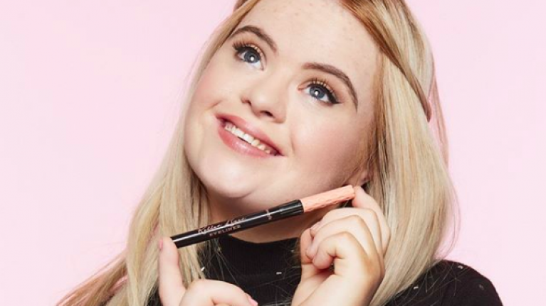 The new face of Benefit Cosmetics is set to become the world's first Supermodel with Down Syndrome