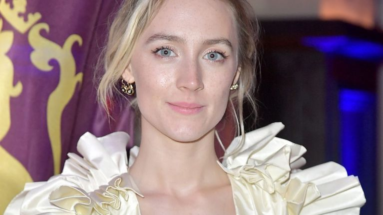 Saoirse Ronan is going to be on the Late Late Show this week