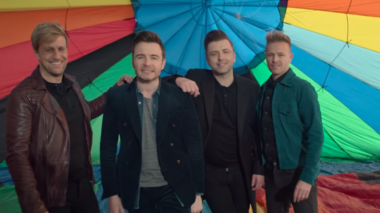 Westlife just dropped the video for Hello My Love and we adore