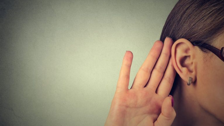 This woman's rare medical condition means she can't hear men when they talk