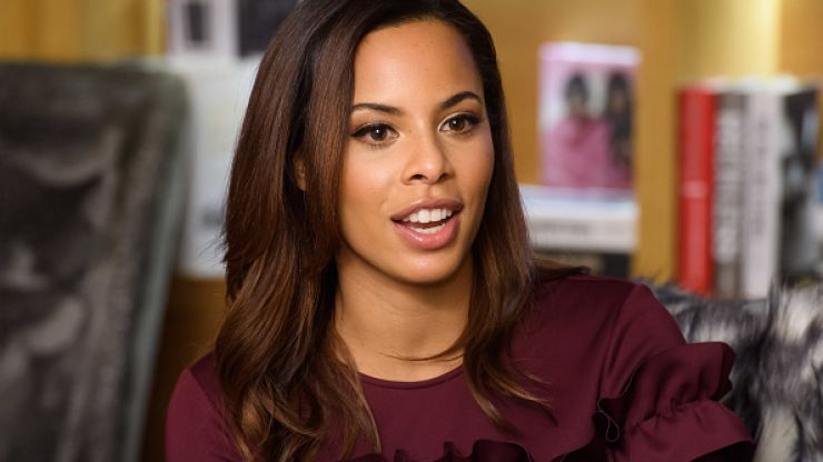 Rochelle Humes' New Look skirt comes in five colours and we're besotted with it