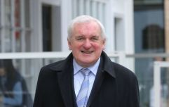 Bertie Ahern has responded to THAT viral WhatsApp voice note