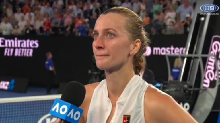 Emotional Petra Kvitova gives incredible speech after ...